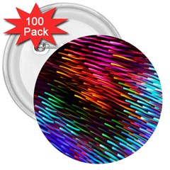 Rainbow Shake Light Line 3  Buttons (100 Pack)