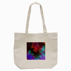 Rainbow Shake Light Line Tote Bag (cream)