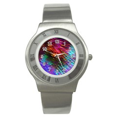 Rainbow Shake Light Line Stainless Steel Watch