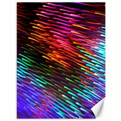 Rainbow Shake Light Line Canvas 36  X 48