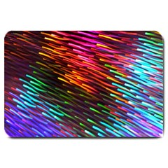 Rainbow Shake Light Line Large Doormat