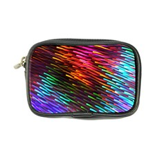 Rainbow Shake Light Line Coin Purse by Mariart