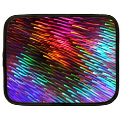 Rainbow Shake Light Line Netbook Case (xl)