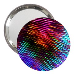 Rainbow Shake Light Line 3  Handbag Mirrors