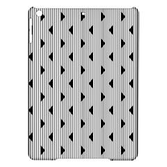 Stripes Line Triangles Vertical Black Ipad Air Hardshell Cases