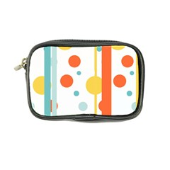 Stripes Dots Line Circle Vertical Yellow Red Blue Polka Coin Purse by Mariart