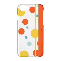 Stripes Dots Line Circle Vertical Yellow Red Blue Polka Apple Iphone 7 Hardshell Case