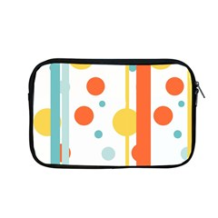 Stripes Dots Line Circle Vertical Yellow Red Blue Polka Apple Macbook Pro 13  Zipper Case