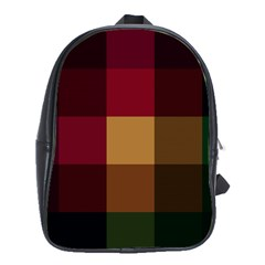 Stripes Plaid Color School Bags(large)  by Mariart