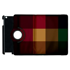 Stripes Plaid Color Apple Ipad 3/4 Flip 360 Case by Mariart