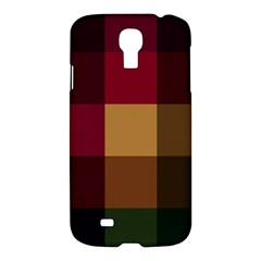 Stripes Plaid Color Samsung Galaxy S4 I9500/i9505 Hardshell Case