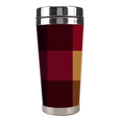 Stripes Plaid Color Stainless Steel Travel Tumblers