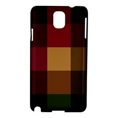 Stripes Plaid Color Samsung Galaxy Note 3 N9005 Hardshell Case
