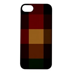 Stripes Plaid Color Apple Iphone 5s/ Se Hardshell Case by Mariart