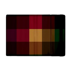 Stripes Plaid Color Ipad Mini 2 Flip Cases by Mariart