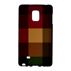 Stripes Plaid Color Galaxy Note Edge by Mariart