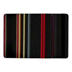 Stripes Line Black Red Samsung Galaxy Tab Pro 10 1  Flip Case by Mariart