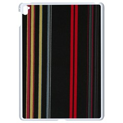 Stripes Line Black Red Apple Ipad Pro 9 7   White Seamless Case by Mariart