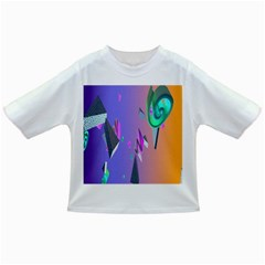 Triangle Wave Rainbow Infant/toddler T Shirts