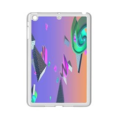 Triangle Wave Rainbow Ipad Mini 2 Enamel Coated Cases by Mariart