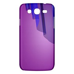 Verre Bleu Wave Chevron Waves Purple Samsung Galaxy Mega 5 8 I9152 Hardshell Case