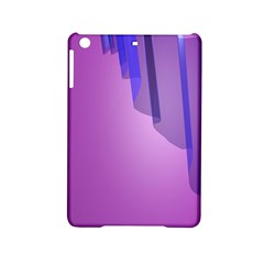 Verre Bleu Wave Chevron Waves Purple Ipad Mini 2 Hardshell Cases by Mariart