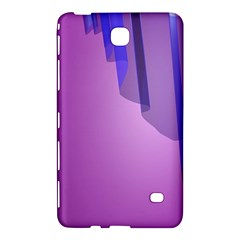 Verre Bleu Wave Chevron Waves Purple Samsung Galaxy Tab 4 (8 ) Hardshell Case  by Mariart