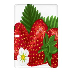 Strawberry Red Seed Leaf Green Samsung Galaxy Tab Pro 10 1 Hardshell Case by Mariart
