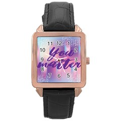 You Matter Purple Blue Triangle Vintage Waves Behance Feelings Beauty Rose Gold Leather Watch