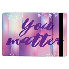 You Matter Purple Blue Triangle Vintage Waves Behance Feelings Beauty Ipad Air Flip by Mariart