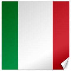 National Flag Of Italy  Canvas 16  X 16   by abbeyz71