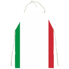 National Flag Of Italy  Full Print Aprons by abbeyz71