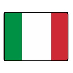 National Flag Of Italy  Fleece Blanket (small) by abbeyz71
