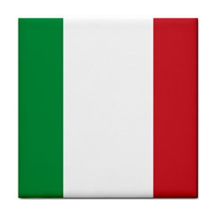 National Flag Of Italy  Tile Coasters by abbeyz71