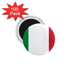 National Flag Of Italy  1 75  Magnets (100 Pack)  by abbeyz71
