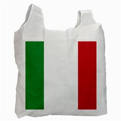 National Flag Of Italy  Recycle Bag (one Side) by abbeyz71