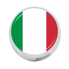 National Flag Of Italy  4-port Usb Hub (two Sides)  by abbeyz71