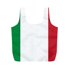 National Flag Of Italy  Full Print Recycle Bags (m)  by abbeyz71