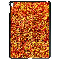 Orange Yellow  Saw Chips Apple Ipad Pro 9 7   Black Seamless Case by Costasonlineshop