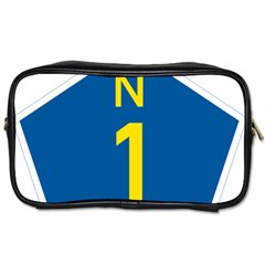 South Africa National Route N1 Marker Toiletries Bags by abbeyz71