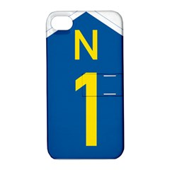 South Africa National Route N1 Marker Apple Iphone 4/4s Hardshell Case With Stand by abbeyz71