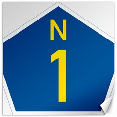 South Africa National Route N1 Marker Canvas 12  X 12   by abbeyz71