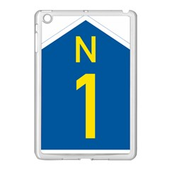 South Africa National Route N1 Marker Apple Ipad Mini Case (white) by abbeyz71