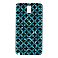 Circles3 Black Marble & Blue Green Water Samsung Galaxy Note 3 N9005 Hardshell Back Case by trendistuff