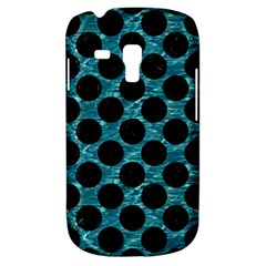 Circles2 Black Marble & Blue Green Water (r) Samsung Galaxy S3 Mini I8190 Hardshell Case by trendistuff
