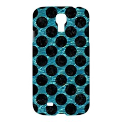 Circles2 Black Marble & Blue Green Water (r) Samsung Galaxy S4 I9500/i9505 Hardshell Case