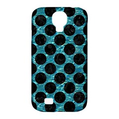 Circles2 Black Marble & Blue Green Water (r) Samsung Galaxy S4 Classic Hardshell Case (pc+silicone) by trendistuff