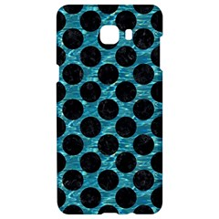 Circles2 Black Marble & Blue Green Water (r) Samsung C9 Pro Hardshell Case  by trendistuff