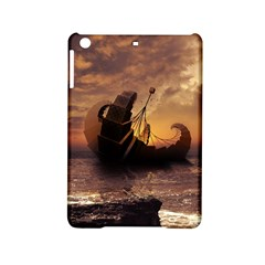 Steampunk Fractalscape, A Ship For All Destinations Ipad Mini 2 Hardshell Cases by jayaprime