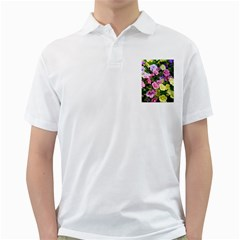 Lovely Flowers 17 Golf Shirts